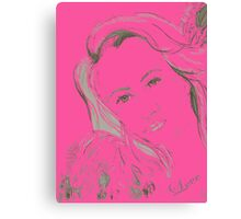 Angel Love Canvas Print