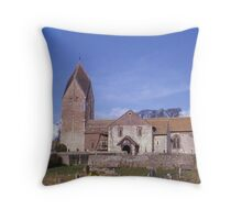 Sompting Church, Sussex, England. Throw Pillow