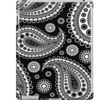 Bandana - Black and White  iPad Case/Skin