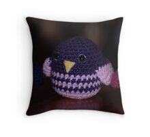 Amigurumi Birdie Throw Pillow
