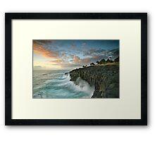 Sunrise Fingal Head Framed Print