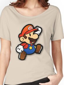 Custom Paper Mario Shirt Women's Relaxed Fit T-Shirt