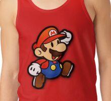 Custom Paper Mario Shirt Tank Top