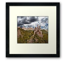 Castle Before The Storm Framed Print