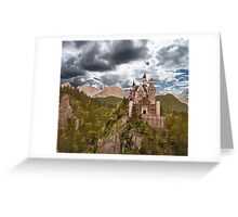 Castle Before The Storm Greeting Card