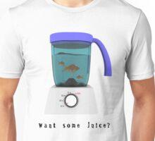 Goldfish in a blender Unisex T-Shirt