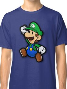 Custom Paper Mario Luigi Shirt Classic T-Shirt
