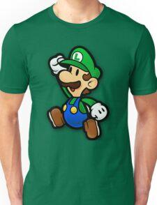 Custom Paper Mario Luigi Shirt Unisex T-Shirt