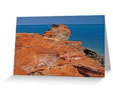 Gantheaume Point, Broome, Western Australia Greeting Card