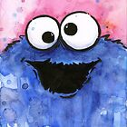 Cookie Monster by OlechkaDesign