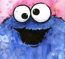 Cookie Monster by OlechkaDesign
