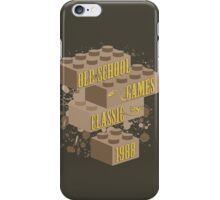Old School Games - Classic iPhone Case/Skin