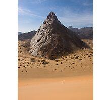 The Towering Marib Desert - Yemen Photographic Print