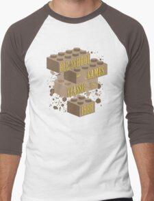 Old School Games - Classic Men's Baseball ¾ T-Shirt
