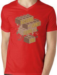 Old School Games - Classic Mens V-Neck T-Shirt