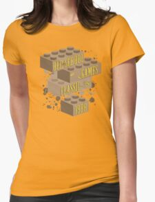 Old School Games - Classic Womens Fitted T-Shirt