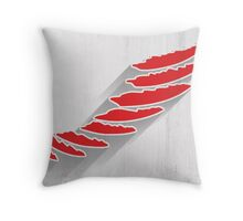 Detroit Red Wings Minimalist Print Throw Pillow