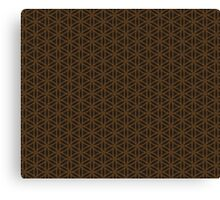 Flower of life pattern Canvas Print