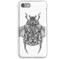 Chafer Beetle - Drawing iPhone Case/Skin