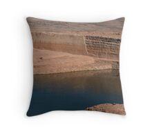Fetching Water - Yemen Throw Pillow