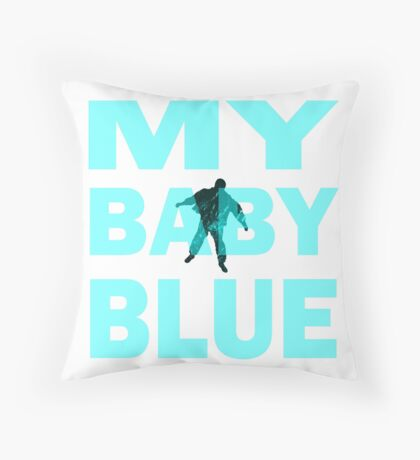 Breaking Bad- My Baby Blue- Walter's Fate Throw Pillow