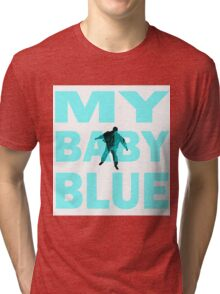 Breaking Bad- My Baby Blue- Walter's Fate Tri-blend T-Shirt