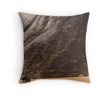 Sand-boarding - Yemen Throw Pillow