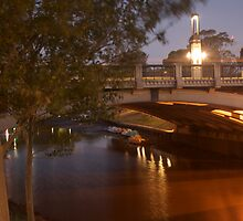 River Torrens Adelaide Empty by Dene Wessling