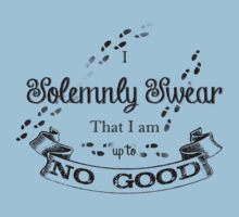 I Solemnly Swear That I'm up to no Good Kids Tee
