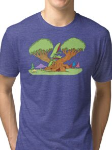 insect tree Tri-blend T-Shirt