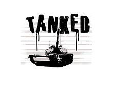 Tanked! Photographic Print
