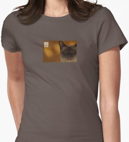Cattitude Womens Fitted T-Shirt