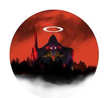 Evangelion- Unit 01 - Destruction. by NomadSenpai