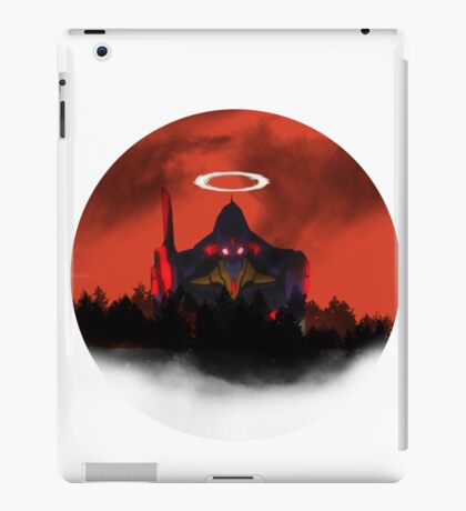 Evangelion- Unit 01 - Destruction. iPad Case/Skin