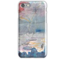 THE FIREWORKS - ENGLISH BAY VANCOUVER(SKETCH)(C1999) iPhone Case/Skin