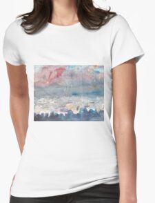 THE FIREWORKS - ENGLISH BAY VANCOUVER(SKETCH)(C1999) Womens Fitted T-Shirt