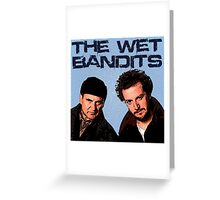 Home Alone Wet Bandits T Shirt Greeting Card
