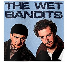 Home Alone Wet Bandits T Shirt Poster
