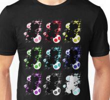Super Smash Bros. Rainbow Yoshi Silhouettes Unisex T-Shirt