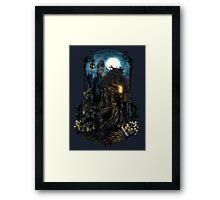 Bloodborne - The Hunt Framed Print