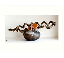 Ikebana-106 Art Print