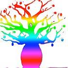 Rainbow Boab by Nada  Pantle