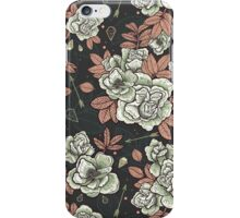 Roses and diamonds iPhone Case/Skin