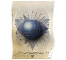 ingress : Resistance Intel Team poster Poster