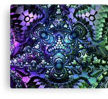 Psyberspheres Canvas Print