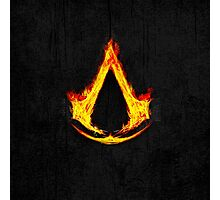 Creed Assassins Flame Photographic Print