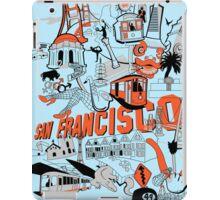 City Tee SF iPad Case/Skin