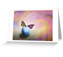 About Life, Birth and Rebirth Greeting Card