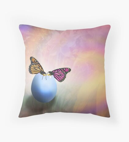 About Life, Birth and Rebirth Throw Pillow