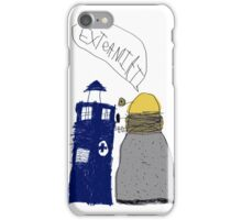 Doctor Who and The Dalek iPhone Case/Skin